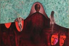 Maskene Oljemaleri (60x80 cm)
