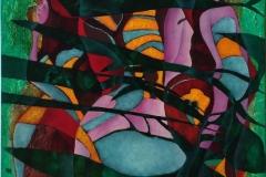 Sommer Oljemaleri (50x50 cm)